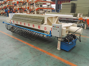 How to ensure the service life of membrane filter press?