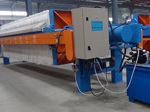 Application of filter press in beer wort industry