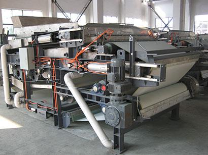 Heavy Carbon Steel Belt Filter Press